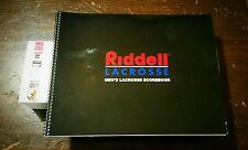 Men's Lacrosse Score Book