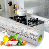 Waterproof Stove Wall Self Adhesive Foil Sticker Aluminum Oil-proof Wallpapers