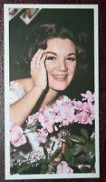 Connie Francis    Pop Singer   Original 1960's   Photo Card