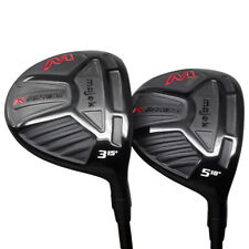 "Senior Men's +2"" Majek K-Series Fairway 3 5 Wood Golf Clubs, SENIOR A Flex"