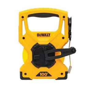 DEWALT 100 ft. Measuring Tape brand new with tag