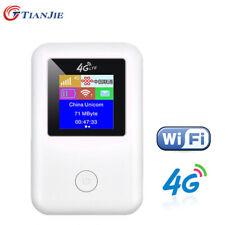 Portable 4G LTE FDD Router Mobile Wirelss Wifi Hotspot SIM Card Slot Unlocked
