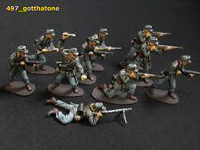 airfix/ matchbox plastic 1/32 professionally painted German Afrika Korps ww2.