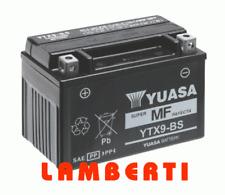BATTERIE ORIGINAL YUASA YTX9-BS KYMCO MXU 150 2005 2006 2007 2008 2009 2010