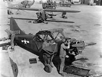 WWII Photo L5 Bird Dog Observation Plane USAAF WW2 World War Two   / 5151