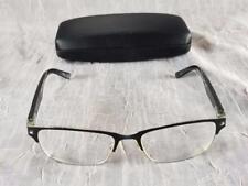 Alexander Julian Eyeglass Frames Colours Scrim Men's Flex 52 16 140 Black & Gold