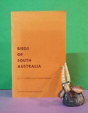 HT Condon: Birds Of South Australia ~ extract from SA Year Book 1972/ornithology