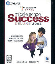 Middle School Success Deluxe 2008 (Cheap Price!) 33 Subjects 3000+Exercises