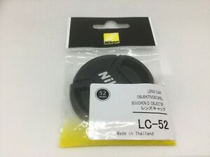【Brand New Euro Asia Free Shipping】 Nikon Lens Front Cap 52mm LC-52  From JAPAN