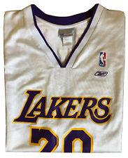 XL Mens GARY PAYTON Los Angeles LAKERS Basketball REEBOK NBA Sewn Jersey Tank