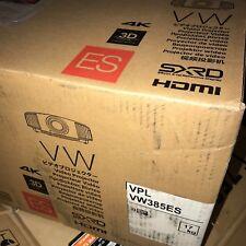BrandNewSealed Sony VPL-VW385ES VPLVW385ES 4K SXRD Home Theatre Projector