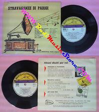 LP 45 7'' STRAVAGANZE DI PARIGI Chevalier Lebas MUSIC HALL IPK 707 no cd mc dvd