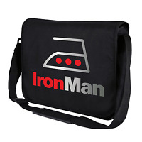 IronMan Satire Iron Man Bügeleisen Fun Motiv Spaß Umhängetasche Messenger Bag
