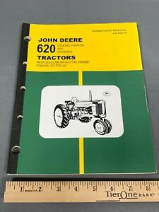 John Deere 620 Tractor General Purpose and Standard Tractors Operator's Manual