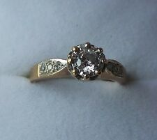 RING: Diamond Dress Ring, Insurance Valuation £800