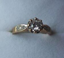 RING: Diamond Dress Ring, Insurance Valuation £800