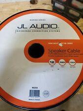 JL Audio marine speaker wire 12AWG 12GA PER 25 FOOT xm-whtsc-12(25 foot per qty)