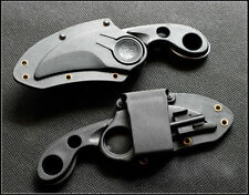EDC Hunting Outdoor Survival Tool Camping Serrated Bear Claw Knife with Sheath