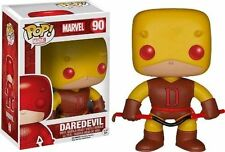 Funko Pop Marvel 90 Daredevil Yellow Suit Underground Toys