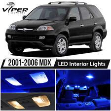 2001-2006 Acura MDX Blue LED Interior Lights Package Kit