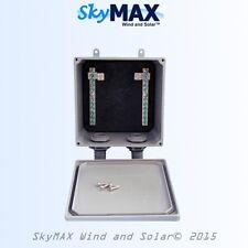 Buss Bar Combiner Box for solar panels and wind turbine generators