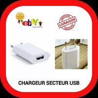 CHARGEUR ADAPTATEUR PRISE SECTEUR MURAL CABLE USB micro C apple iPhone Samsung