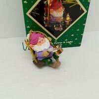 Hallmark Keepsake Magic Christmas  Ornament North Pole Power and Light 1987