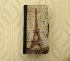 Vintage Paris Eiffel Tower iphone wallet case iPhone Samsung Galaxy flip case