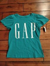 Gap Girls t shirt Aqua Teal XL girls 12 New with tags retail 16 dollars