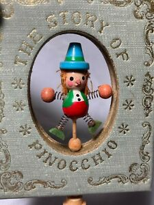 Vintage Ornament 1979 Kurt S Adler The Story of Pinocchio Book Animated