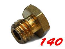 Vergaserhauptdüse Gr. 140 6-Eckig 6mm Düse für Bing Vergaser Zündapp Sachs #01