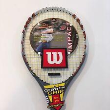 Wilson 110 Stretch Tennis Racket 4 3/8 L3 Oversize Impact Soft Shock Sampras