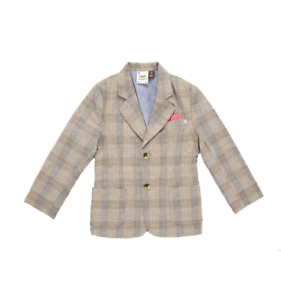 Fore!! Axel and Hudson Tan Plaid Blazer, Size: 10/12