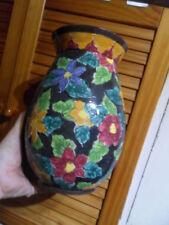 gros Vase boule centre de table deco fleurs du style CERART MONACO Vallauris !!