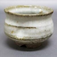 KR06)Japanese Pottery Tea Bowl wabi/sabi artist Seigan Yamane