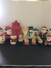 Vintage Christmas Candles Including Gurley
