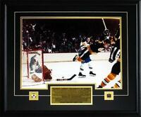 Bobby Orr Boston Bruins The Goal Color 16x20 Boston Bruins Frame