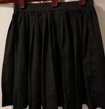 Ali & Kris Girl's black pleated skirt size S