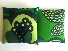 MARIMEKKO ORIG VNTG 1960'S RARE MID CENTURY SCANDINAVIAN MODERN THROW PILLOWS