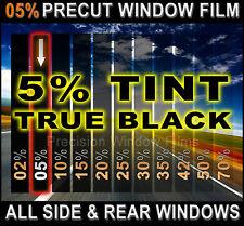 PreCut All Sides & Rears Window Film Black 5% Tint Shade for Pontiac Glass
