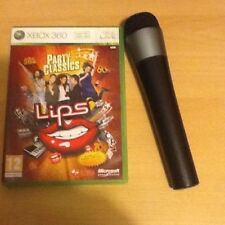(Lips) Party classics Wireless Microphone For Microsoft Xbox 360 Bundle Singing
