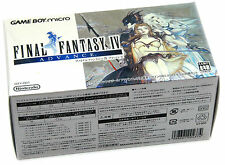 Game Boy Micro GBA System FINAL FANTASY IV Japan MINT