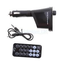Auto Car Cigarette Lighter MP3 Player Phone to Radio w/ Remote Control Green