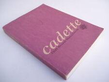 CADETTE - GIRL SCOUT HANDBOOK - 1968 - USA
