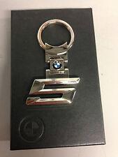 BMW 5 SERIES GENUINE CHROME KEYRING BMW KEYRING KEY RING 80272287779
