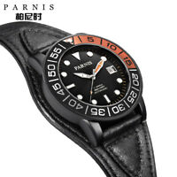 42mm Parnis 21 Jewels Miyota Automatic Men's Womens Watch Sapphire Crystal 10ATM