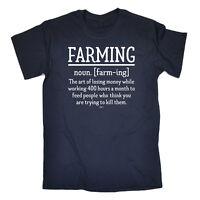 Funny Novelty T-Shirt Mens tee TShirt - Farming Noun
