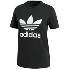 adidas Trefoil Tee Girl-shirt schwarz XXL