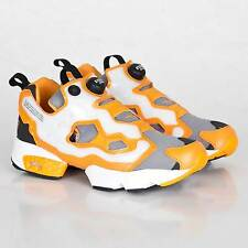 REEBOK PUMP FURY OG 'MAJOR' MEN'S SHOES SIZE US 3 UK 2 EUR 33 GRAY/ORANGE V61481