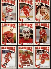 DETROIT RED WINGS ITG Franchises Lot (25) Sawchuk Yzerman Mahovlich Giacomin +++